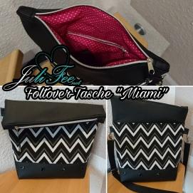 Miami_Zickzack Schwarz-Weiß